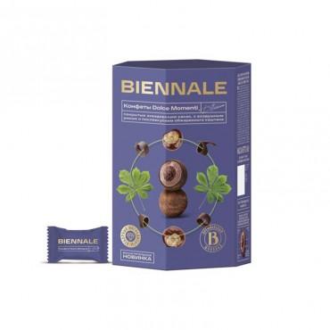 """Конфеты глазированные с комбинированными конфетными массами """" Biennale Dolce Momenti Castana"""""""