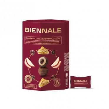 """Конфеты глазированные с комбинированными конфетными массами """" Biennale Dolce Momenti Applepie"""""""