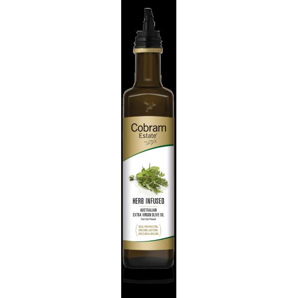 Масло оливковое Cobram Extra Virgin Mixed Herb с ароматом разнотравья 375 мл