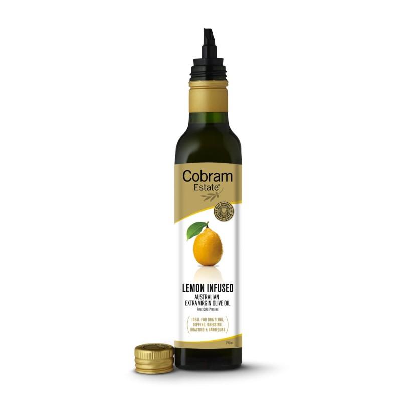 Масло оливковое Cobram Extra Virgin Lemon с ароматом лимона 250 мл