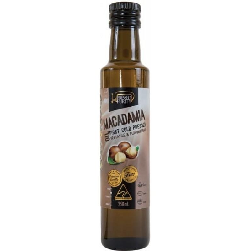 Масло макадамии Macadamia Oil Pressed Purity 250 мл