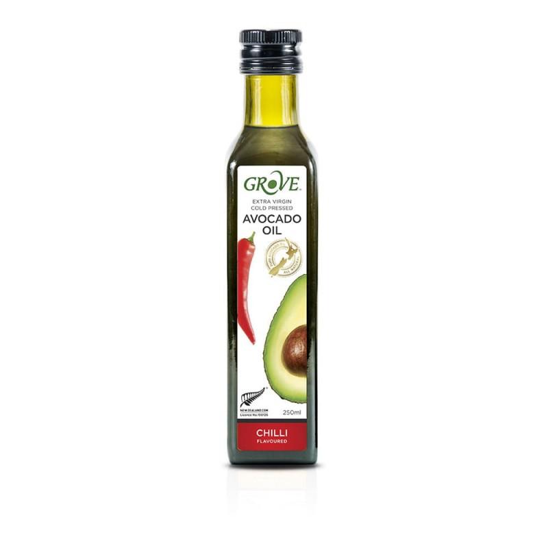 Масло авокадо Grove Extra Virgin Chilli со вкусом перца чили 250 мл