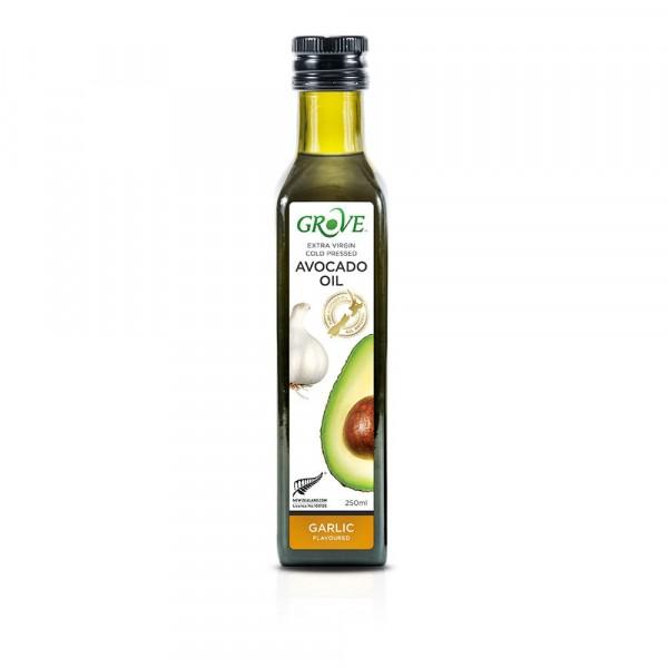 Масло авокадо Grove Extra Virgin Garlic со вкусом чеснока 250 мл