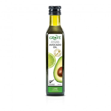 Масло авокадо Grove Extra Virgin Lime со вкусом лайма 250 мл